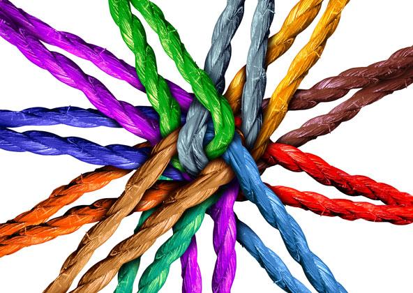 Impact Social coloré
